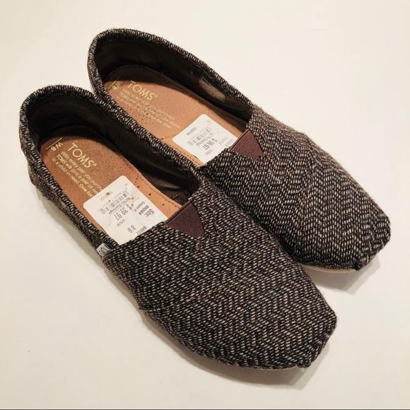 Toms Shoes - TOMS | Classic Tweed Herringbone Slip-on